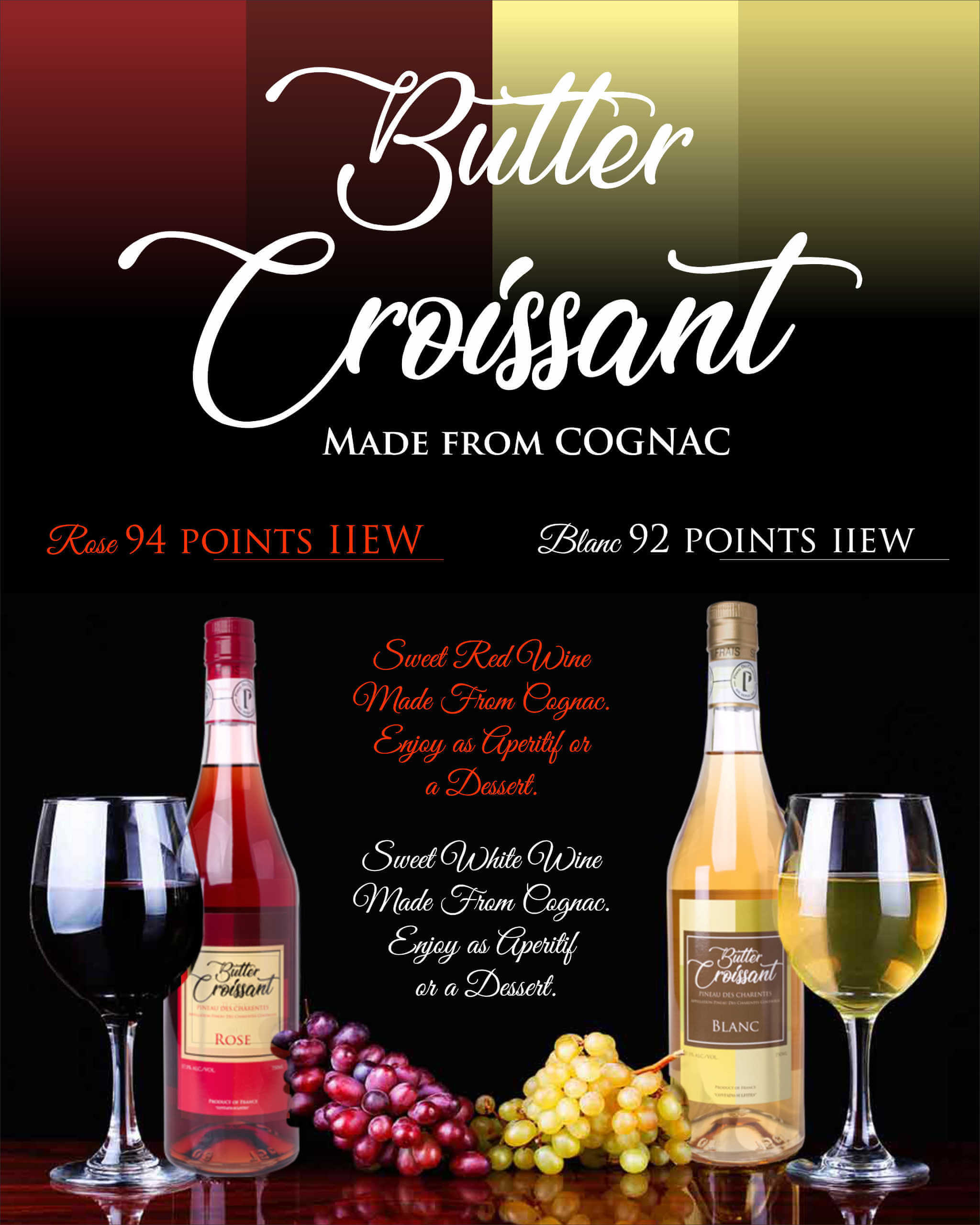 Butter Croissant - Made from Cognac