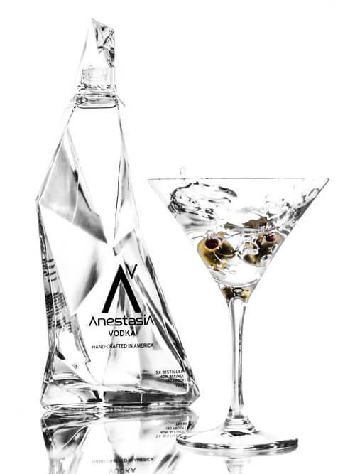 Bottle Shot - Anestasia Vodka