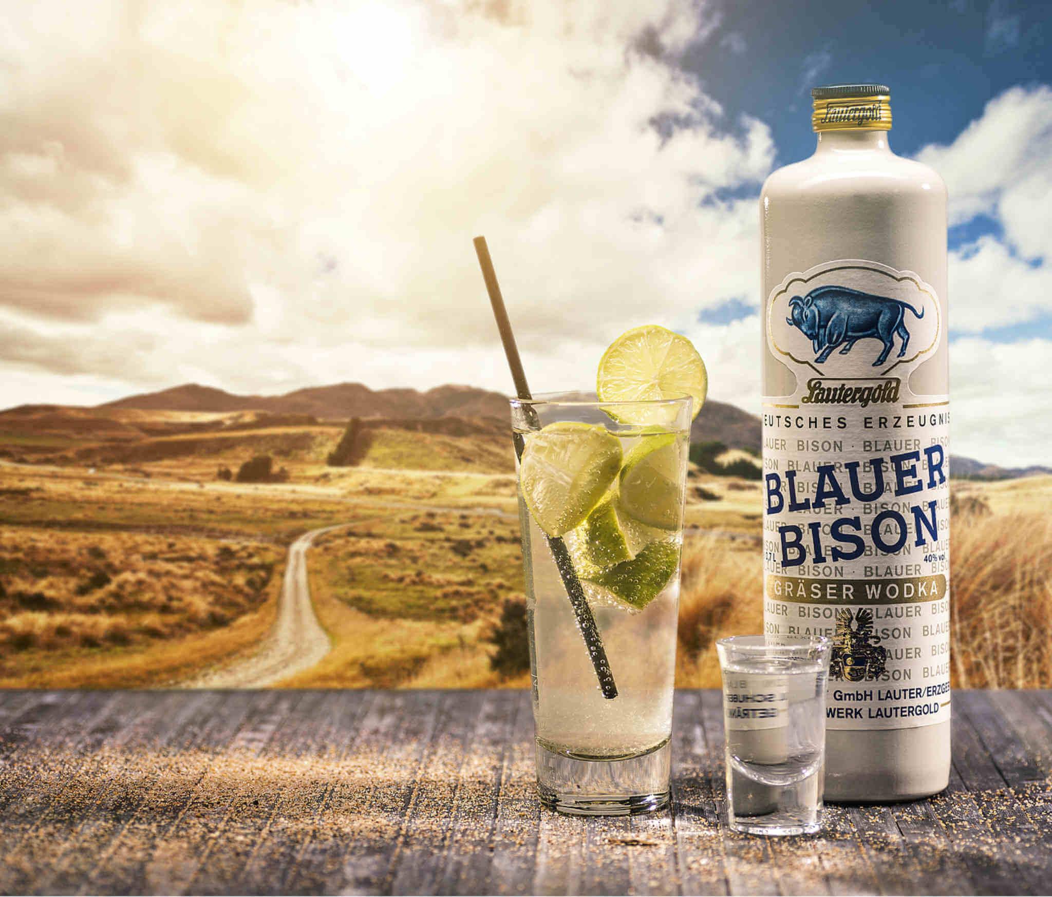 Blue Bison Grass Vodka