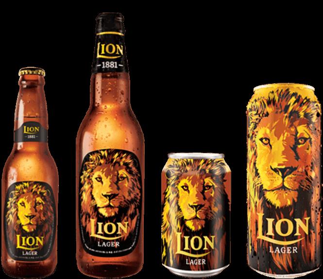 LION BEER