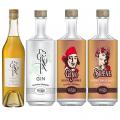 Photo for: Vivant-Cognac Decroix, Gin Decroix, Gino Rum & Silène French Whiskey