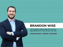 Photo for: Q & A with - Brandon Wise, Vice President of Beverage Operations at Sage Restaurant Group