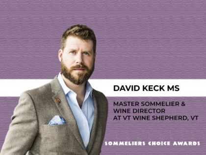 Photo for: 30 Minutes with David Keck MS, wine director at VT Wine Shepherd